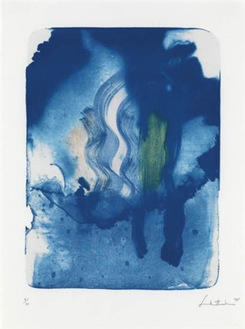 reflections v (from reflections) by helen frankenthaler