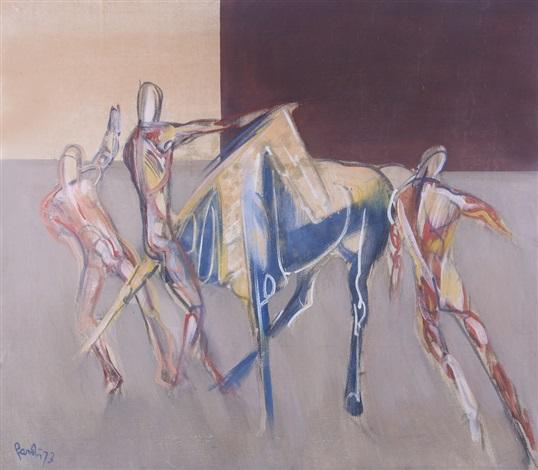 cavalieri e cavallo by gianfranco pardi