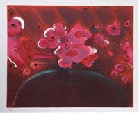 marilyns flowers ii by peter max