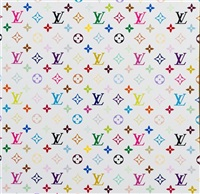 monogram multicolore-white (contained in original louis vuitton box) by takashi murakami