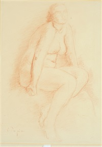 femme assise by charles despiau
