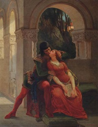 the kiss by emanuel gottlieb leutze
