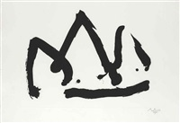black mountation (state i) by robert motherwell