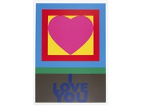 h is for heart by peter blake
