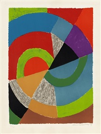 ellipse by sonia delaunay-terk