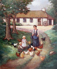 feeding poultry by phyllis arnold