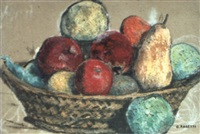 le panier de fruits by georges rasetti
