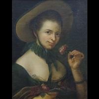 ritratto di giovane donna con cappello by anonymous (18)