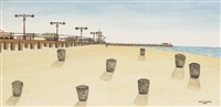 coney island beach by vestie davis