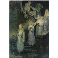 the wise and the foolish virgins by thomas cooper gotch