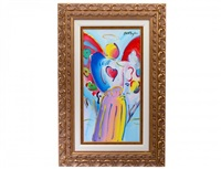 angel with heart detail ver. v #47 by peter max