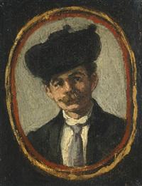 portrait de monsieur pagans by édouard manet