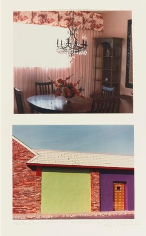 architectural studies diptych by dan graham
