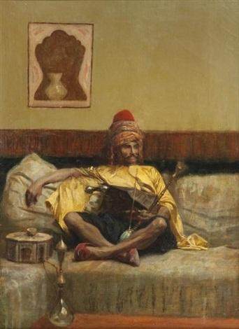 Le Sultanat Ottoman Charles-bargue-bachi-bouzouk-assis