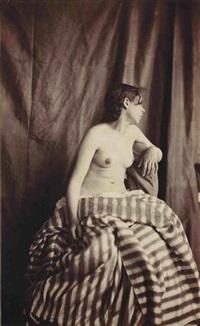 nude by eugène (jean louis marie) durieu