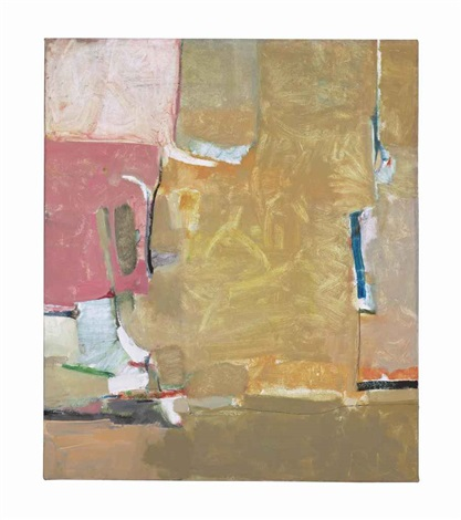 inscape (from the urbana series) by richard diebenkorn