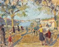 le port de roanne by jean puy