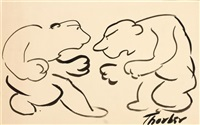 picking the flower (+ the match; 2 works) by james thurber