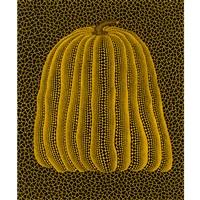 pumpkin(yellow t) by yayoi kusama