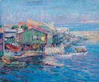 cabanon de pêcheurs sur la corniche by henri aurrens