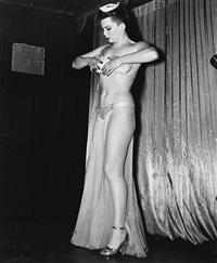 stripper by weegee