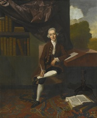 portrait of william stackhouse by johann joseph zoffany
