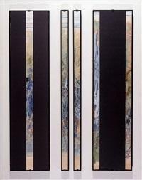 untitled (triptych) by joshua neustein