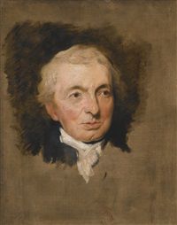 portrait of prince hoare by thomas lawrence