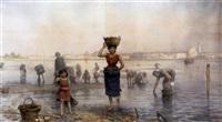 muschelsammler am strand von zara by tito agujari