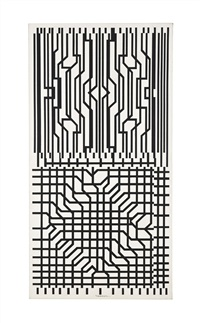grilles 2 by victor vasarely