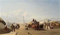 markttag in szolnok by johann gualbert raffalt