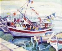 bateaux pavoisés by gérard fagard