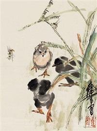 雏鸡蜜蜂 by huang zhou