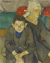 mother and son by maria-mela muter