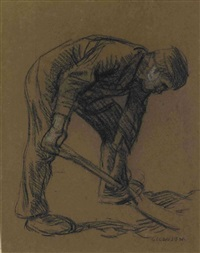 feldarbeiter by sir george clausen