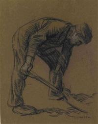 feldarbeiter by sir george clausen