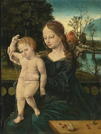 virgin and child by flemish school (16)