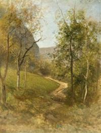 le sentier de sassenage, effet d'automne by jean-alexis achard