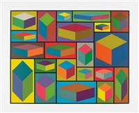 distorted cubes #2 by sol lewitt
