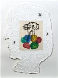 carte siciliane no. 8 by mimmo paladino