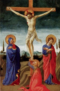 the crucifixion by domenico di michelino