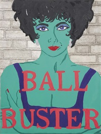 ball buster by kathe burkhart
