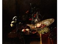 früchtestilleben mit prunkgefässen by juriaen van streeck