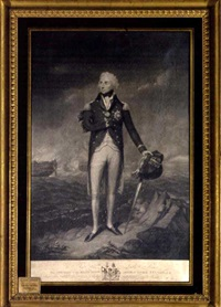 portrait of admiral lord nelson by lemuel francis abbott