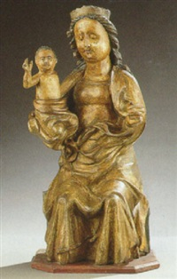 the virgin and child by german school (14)