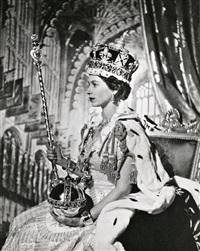 coronación de elizabeth ii, 1953 by cecil beaton