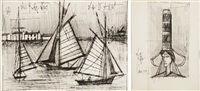 saint-cast souvenirs d'enfance (bk w/16 works) by bernard buffet