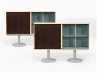 paire de modules de rangement lc casiers standard (set of 2) by le corbusier and pierre jeanneret