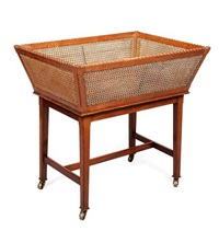 newspaper basket and stand by edwin henry lutyens