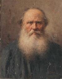 ritratto maschile con barba by salvatore postiglione